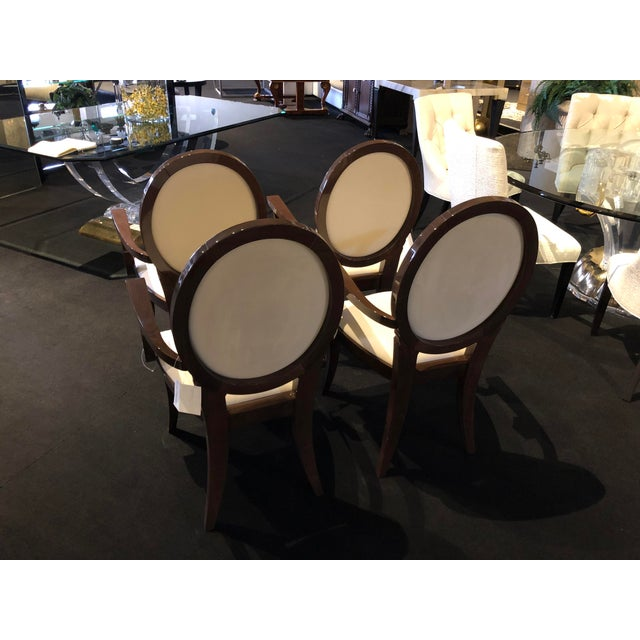 Modern Ultra Suede Ello Italian Chairs - Set of 6 For Sale - Image 12 of 13