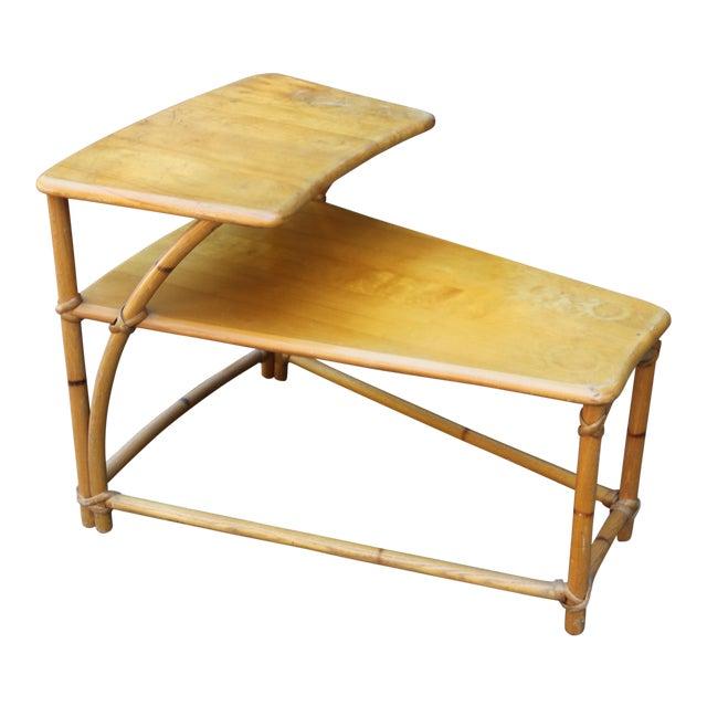 1950s Vintage Mid-Century Modern Heywood-Wakefield Side Table For Sale