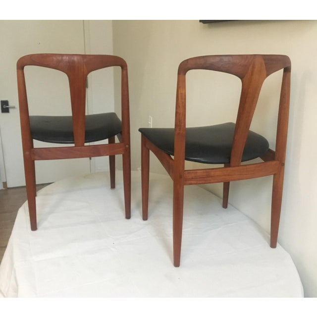 Teak Juliane Dining Chairs by Johannes Andersen - A Set of Two - Image 8 of 10