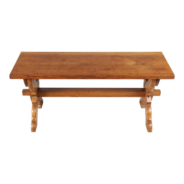 X-Leg Belgian Coffee Table For Sale