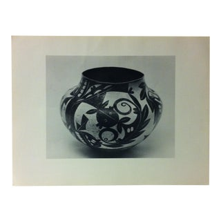 """Circa 1950 """"Acoma Olla Pottery"""" Indian Arts Fund Collection Print For Sale"""