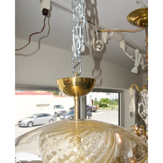 Early 20th Century Murano Glass Chandelier Feeder For Sale - Image 5 of 8
