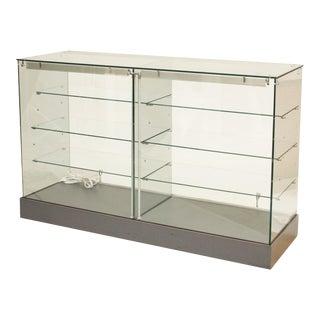 Modern Glass Showcase Cabinet For Sale