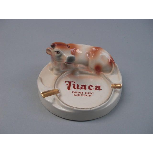 Italian Porcelain Tuaca Ashtray - Image 2 of 6