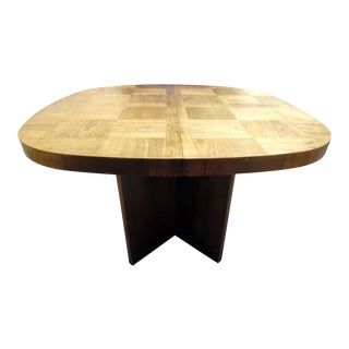 Lane Mid Century Brutalist Dining Table For Sale
