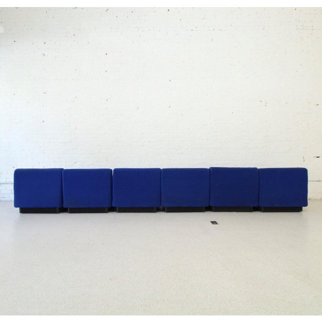 1960s Original 6 Piece Herman Miller by Don Chadwick Sectional For Sale - Image 5 of 6