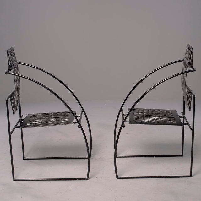 Alias Italian Botta Quinta Op Art Dining Chairs - Set of 8 For Sale In Detroit - Image 6 of 13