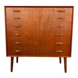 Image of Danish Modern Teak Dresser For Sale