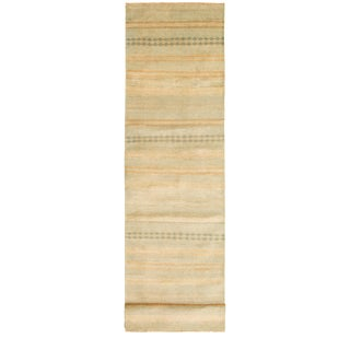 "Hand-Knotted Runner Rug-2'8"" X 10'9"" For Sale"