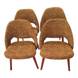Early Eero Saarinen Executive Chairs - Set of 4