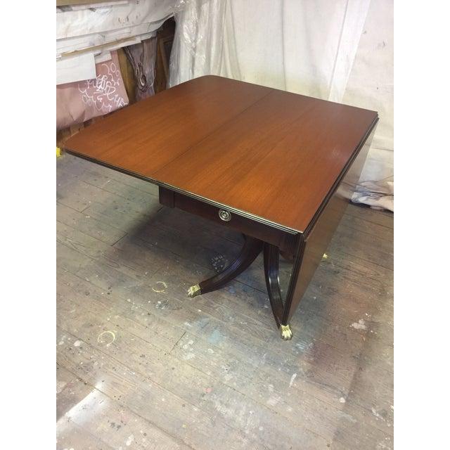 Antique Restored Drop Leaf Table - Image 8 of 10