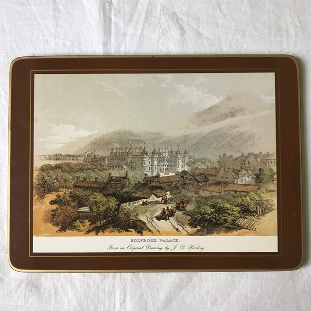 Traditional English Scene Placemats - Set of 6 For Sale - Image 4 of 9