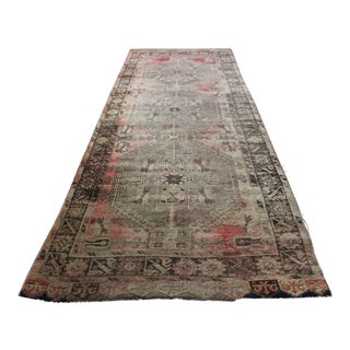 Vintage Hand Knotted Anatolian Rug For Sale