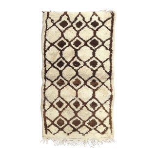 1980s Azilal Rug- 3′1″ × 5′8″ For Sale