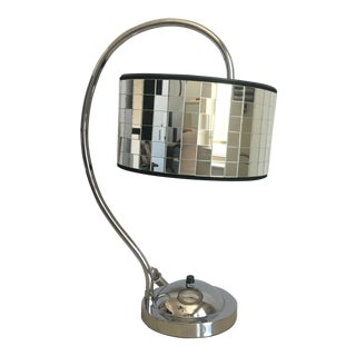 Hollywood Regency Lamp & Shade For Sale