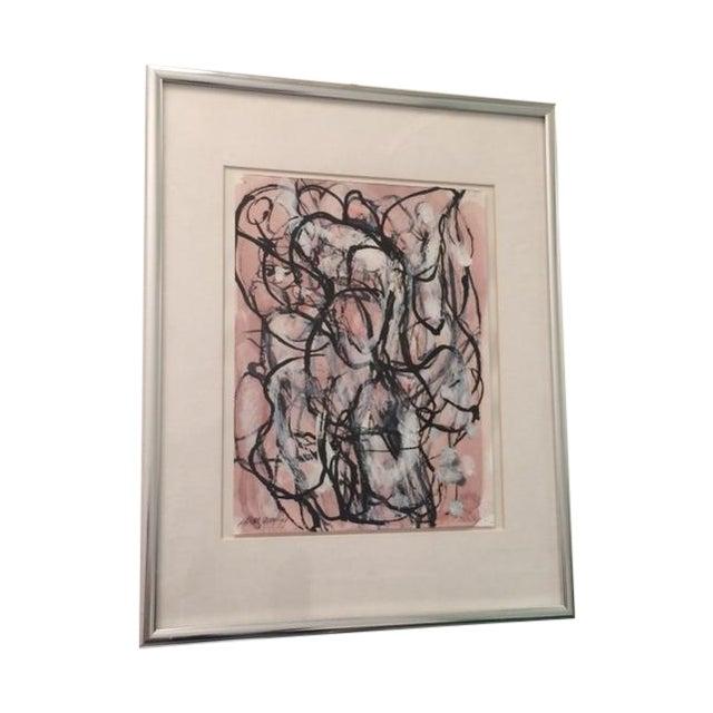 Laura Yang Ink Painting Seashell - Image 1 of 5