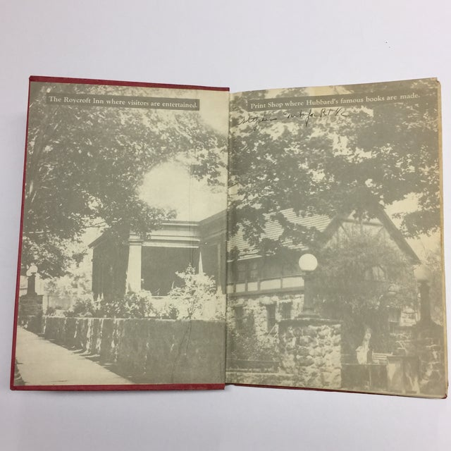 1923 Elbert Hubbard's Scrap Book For Sale - Image 4 of 11