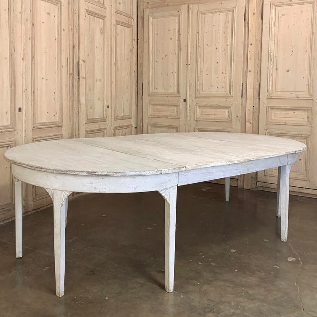 Banquet Table, Painted, Early 19th Century Swedish Gustavian Period For Sale In Dallas - Image 6 of 13
