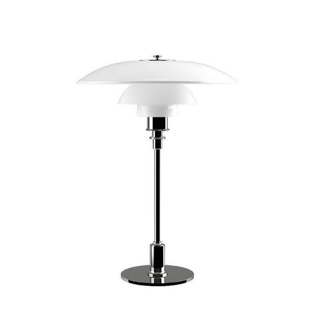 Metal Poul Henningsen Glass Ph 3½-2½ Table Lamp for Louis Poulsen For Sale - Image 7 of 8