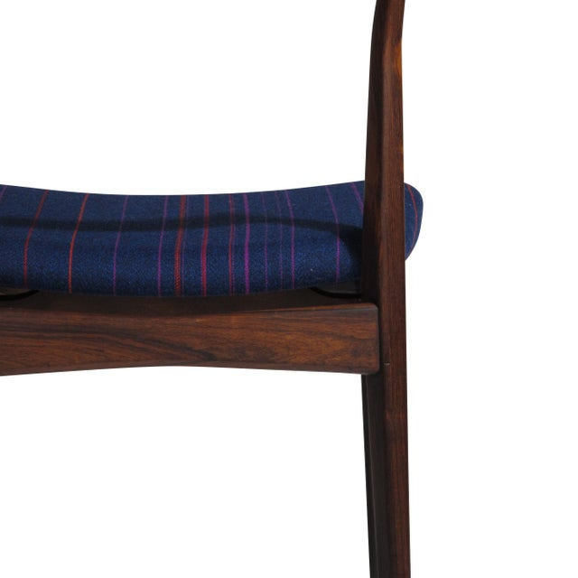 H. P. Hansen for Randers Danish Rosewood Dining Chairs - Set of 6 For Sale - Image 10 of 11