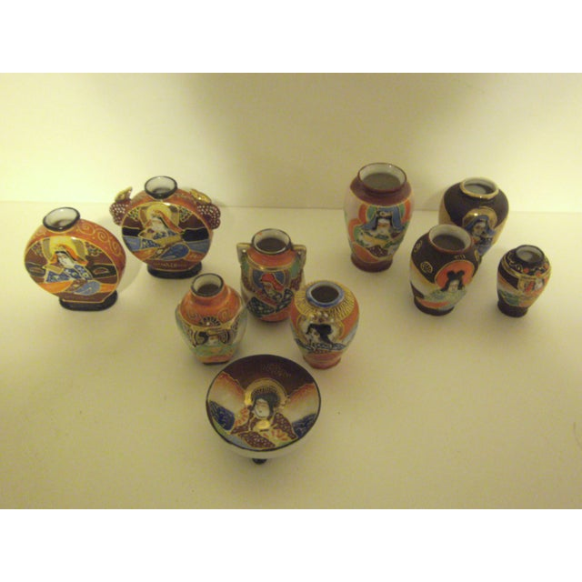 Assorted Vintage Japanese Miniatures - Set of 10 - Image 2 of 11