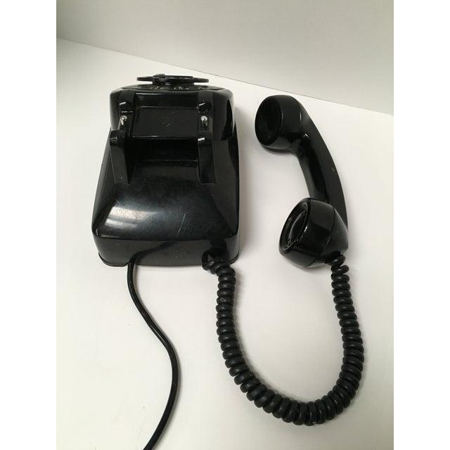 Vintage Leich Black Bakelite Dial Telephone - Image 9 of 9
