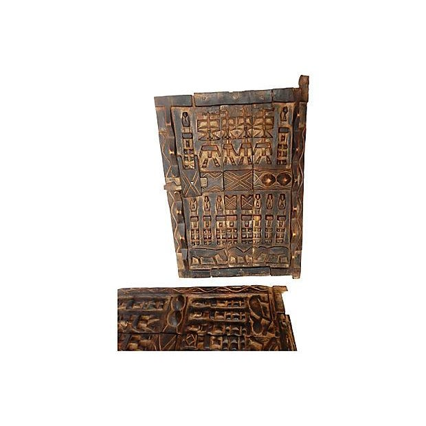 African Dogon Granary Doors - A Pair - Image 4 of 5