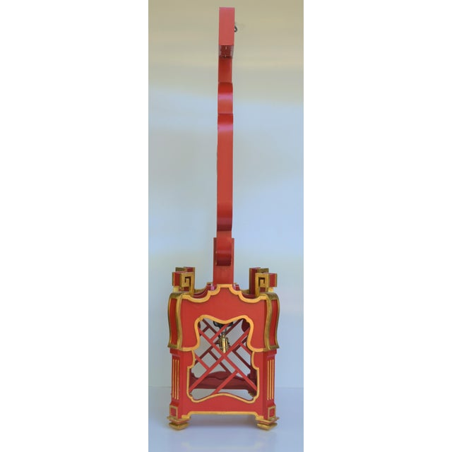 Asian Custom Wooden Chinoiserie Pagoda Lantern, Designed by George Weinle For Sale - Image 3 of 13