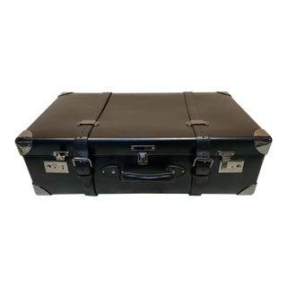 Asprey Londoner Trolley, Black Cross Hatch Suitcase For Sale