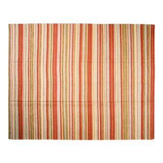 "Striped Egyptian Kilim Rug - 8'3"" X 10'7"""