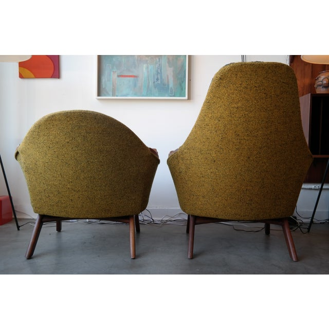 Adrian Pearsall His and Hers Lounge Chairs - Pair For Sale In Los Angeles - Image 6 of 6