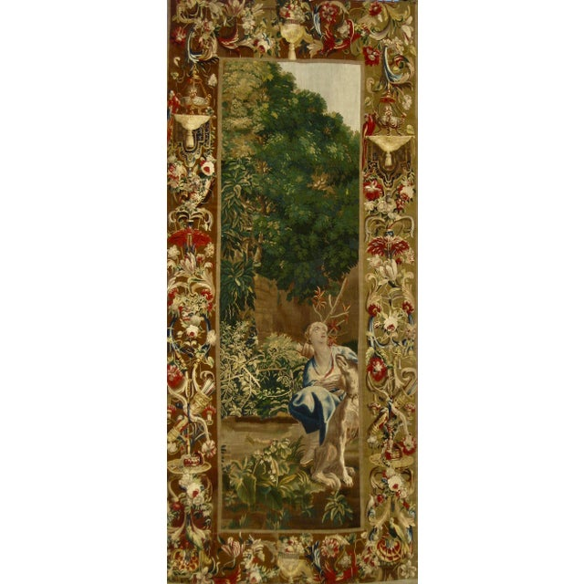1700s Beauvais Tapestry Wall Hanging For Sale - Image 13 of 13