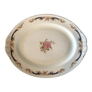 Homer Laughlin Transferware Platter For Sale