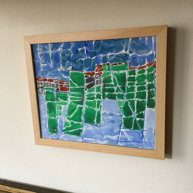 Seymour Boardman 1971 Abstract Expressionist Painting For Sale - Image 5 of 10