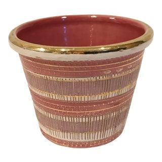 Vintage Aldo Londi Bitossi Small Ceramic Planter