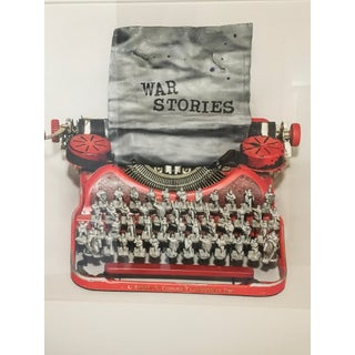 """Nina Bentley """"War Stories"""" Typewriter Limited Edition Framed Photograph C. 2017 For Sale"""
