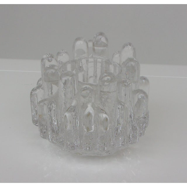 Vintage Crystal Candle Holders - Set of 3 For Sale - Image 5 of 8
