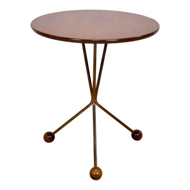 "1950s Larssons Möbelfabrik ""Table in a Jar"" Side Table For Sale"