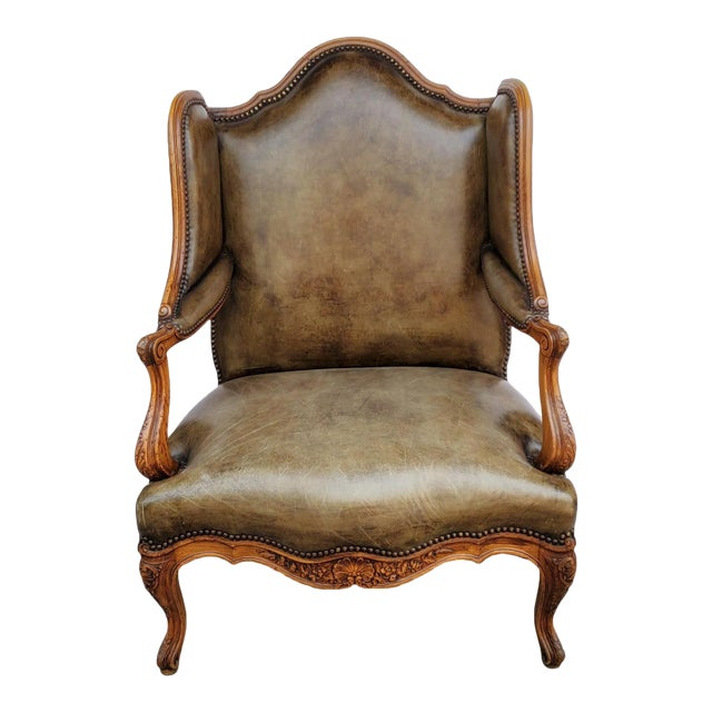French Bergere a Les Orvilles in Louis XIV Style For Sale