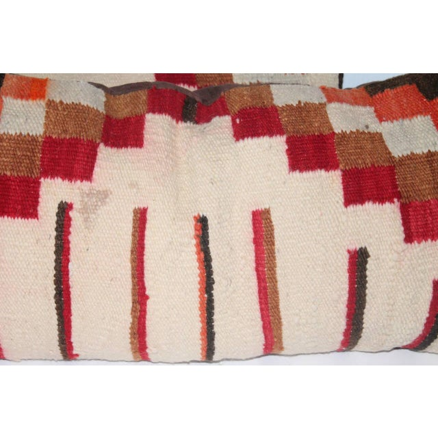 Navajo Navajo Indian Weaving Bolster Pillows For Sale - Image 3 of 4