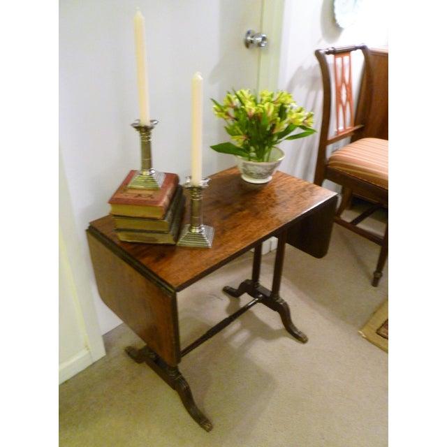 1930s Vintage John Wanamaker NY Regency Style Burl Walnut Coffee Table For Sale - Image 5 of 8