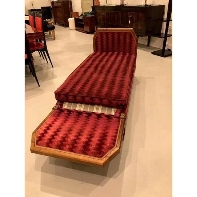 French Art Deco Daybed For Sale - Image 10 of 13