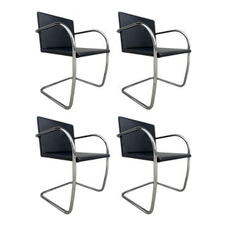 4 Brno Chairs Ludwig Mies van der Rohe for Knoll Int. - Set of 4 For Sale