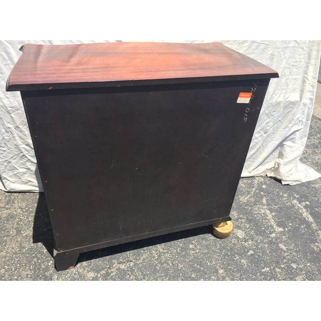 Old Colony Furniture Company Mahogany Dresser For Sale - Image 4 of 4