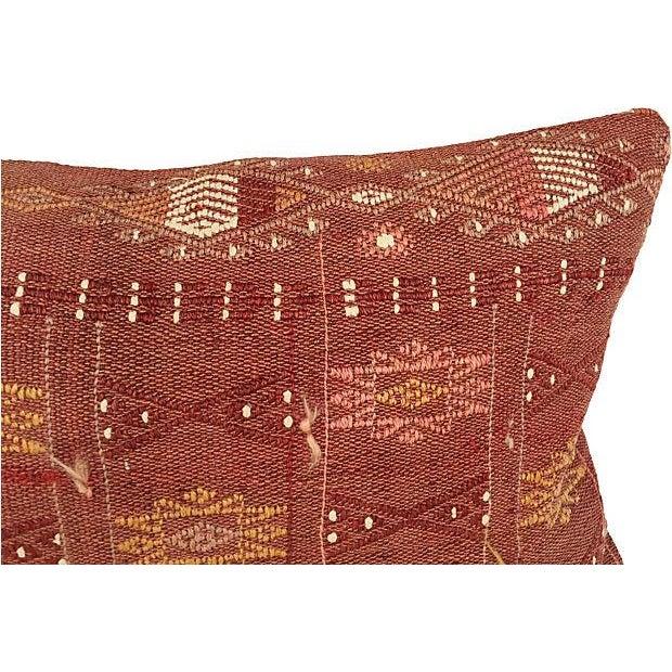 Handmade Brown Turkish Cici Pillow - Image 5 of 5