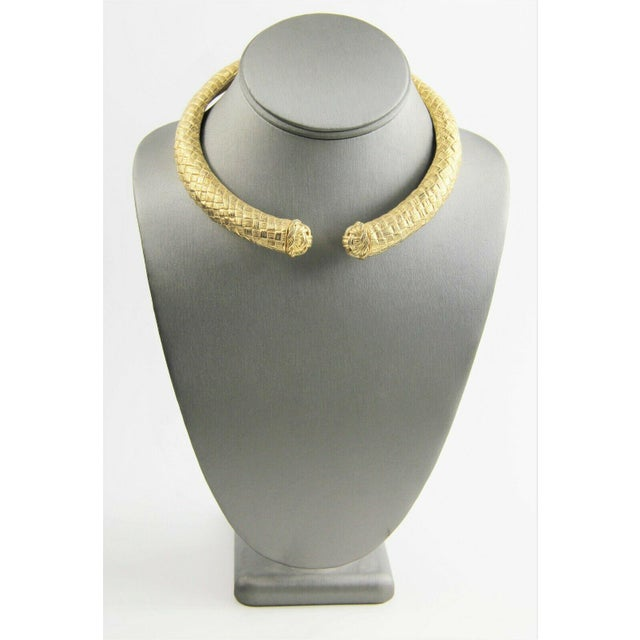 1980s 80s Vintage Givenchy Mogul Collar Necklace For Sale - Image 5 of 5