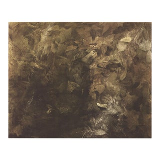 """Andrew Wyeth Thin Ice 33"""" X 38.5"""" Poster 1971 Realism Brown For Sale"""
