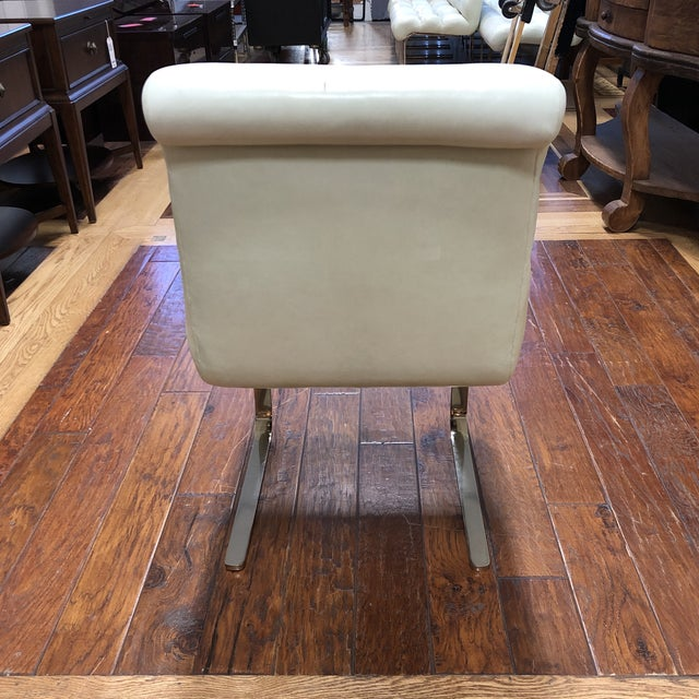 Pace Mid-20th Century Frank Mariani Pace Collection Laguna Cantilever Chair For Sale - Image 4 of 11