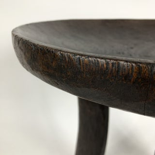 Primitive African Three Legged Wood Stool Preview