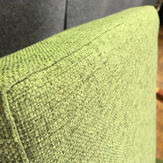 Light Green Mid-Century Modern Armchair - Image 5 of 7